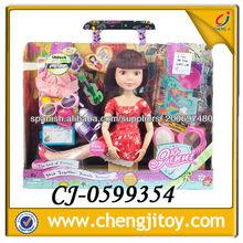 Muñeca para bebé 18 pulgada muñeca moda con ropas y zapatos