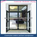 Ventana de aluminio fábrica de puertas
