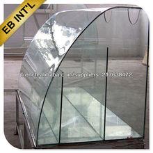 verre trempé, verre trempé pour l'escrime ou balustrade, verre de construction