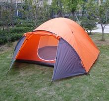 Acampar tent/2person cúpula tienda / outspread tienda de alta calidad