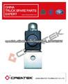 Válvula de solenoide para camiones HOWO 179100710008/2