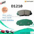 D1210 Pastillas de freno para Toyota Corolla