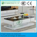 Mesas cristal diseño de café mesas de centro modernas