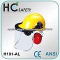 Combinaciones con casco de seguridad
