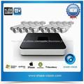 Mejor precio!!!Grabador digital H.264 DVR 8 canales kits con 8 Cámaras exterior blanca de China, 500GB y 1TB sería opcional