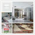 Décoration panneau de plafond de gypse équipement de fabrication