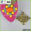 2013 de diamantes de imitación de la moda de la cadena, decorar la cadena de sandalias para hign de tacón