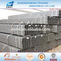 ERW cuadrado rectangular tubería negra de acero