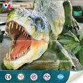 tema de parque de esculturas de dinosaurios vivos