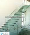 vidrio laminado de la escalera para la Construcción
