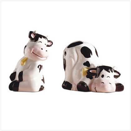 Vintage Kelvin S Ceramic Cow Salt Pepper Shakers Set Harvest Yellow Japan Cow Collecting Pinterest Cow And Salt Pepper Shakers