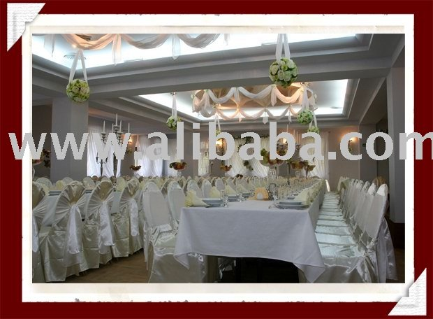 Chair covers skirting wedding decorations Top quality chair