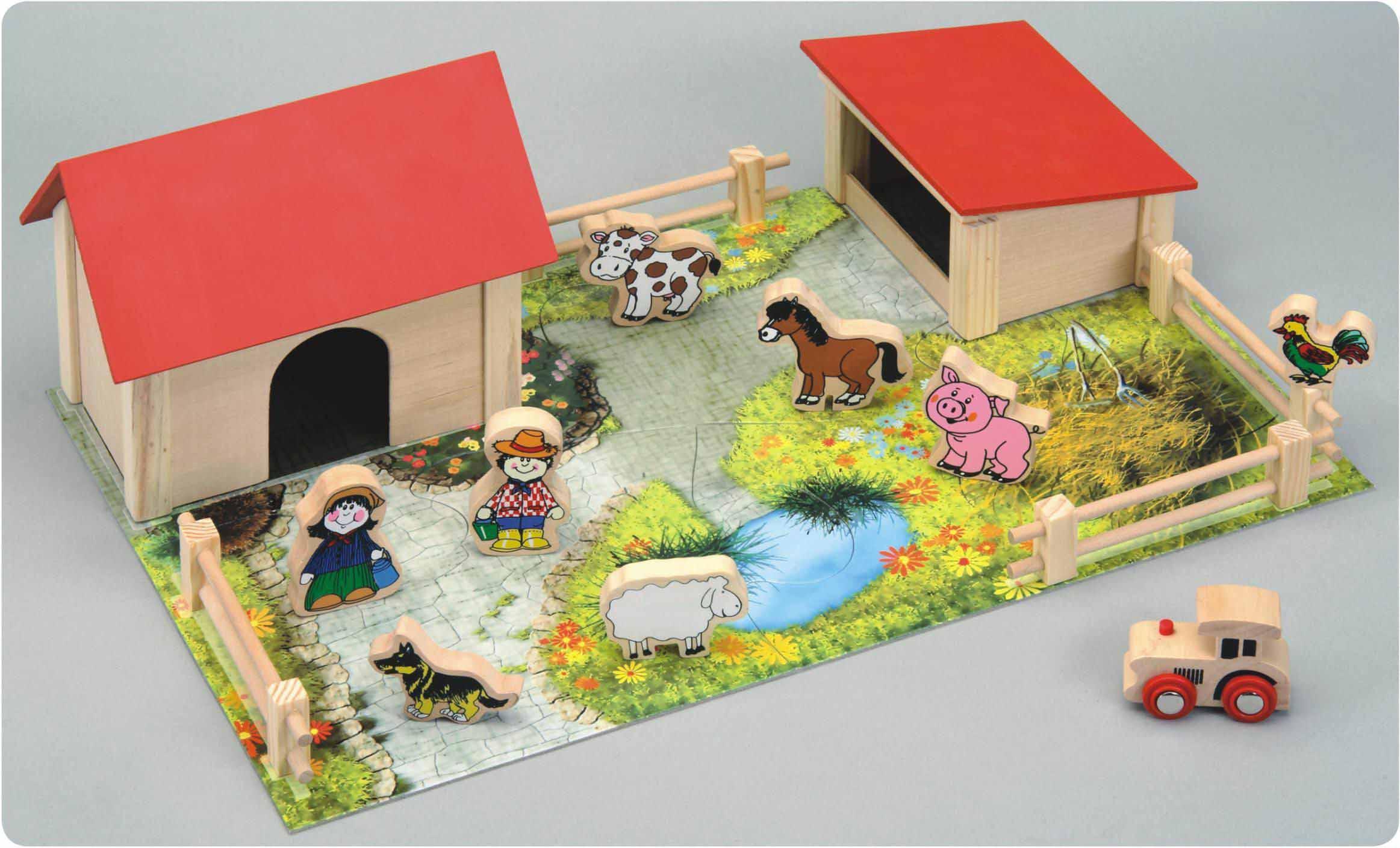 Игрушка ферма с животными своими руками