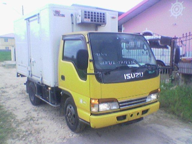 Used Isuzu Elf Freezer Truck