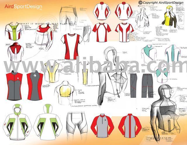 Sport Apparel design service
