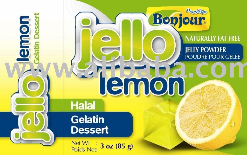 Jello Gelatin Dessert Bonjour Jello Gelatin Desert