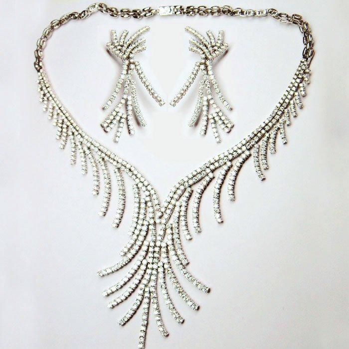 Tanzanite Necklace White Gold White Gold Diamond Necklace