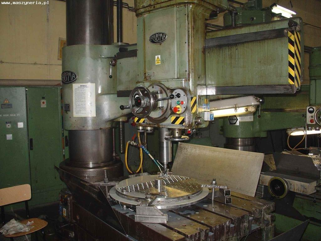 Radial drill RABOMA 12 Rh 1600