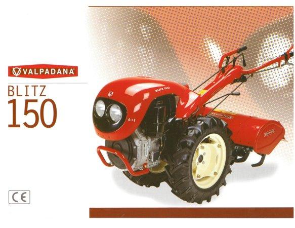 VALDAPANA BLITZ 150 TRACTORS