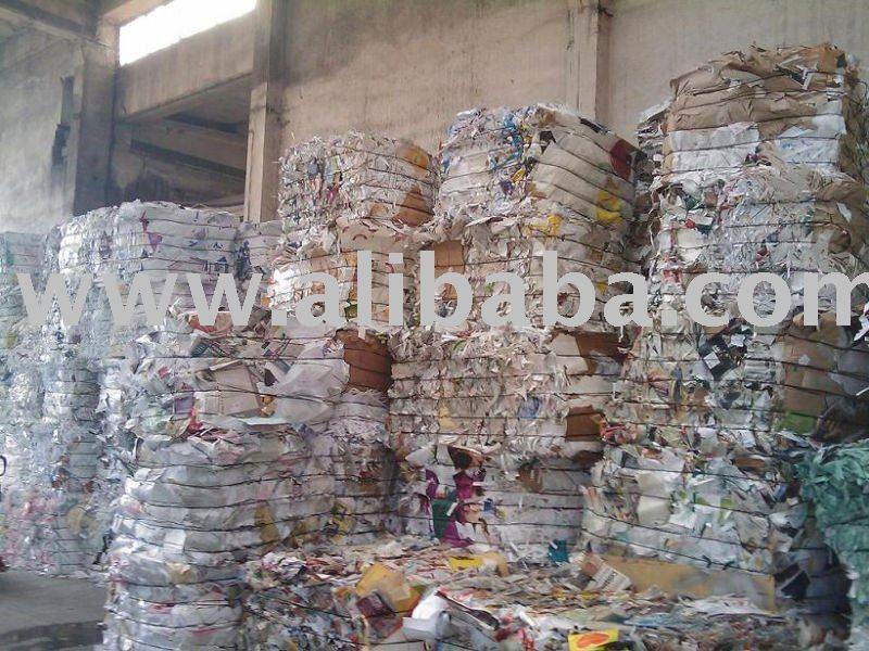mix paper scrap