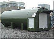 Heavy duty horizontal bulk diesel storag