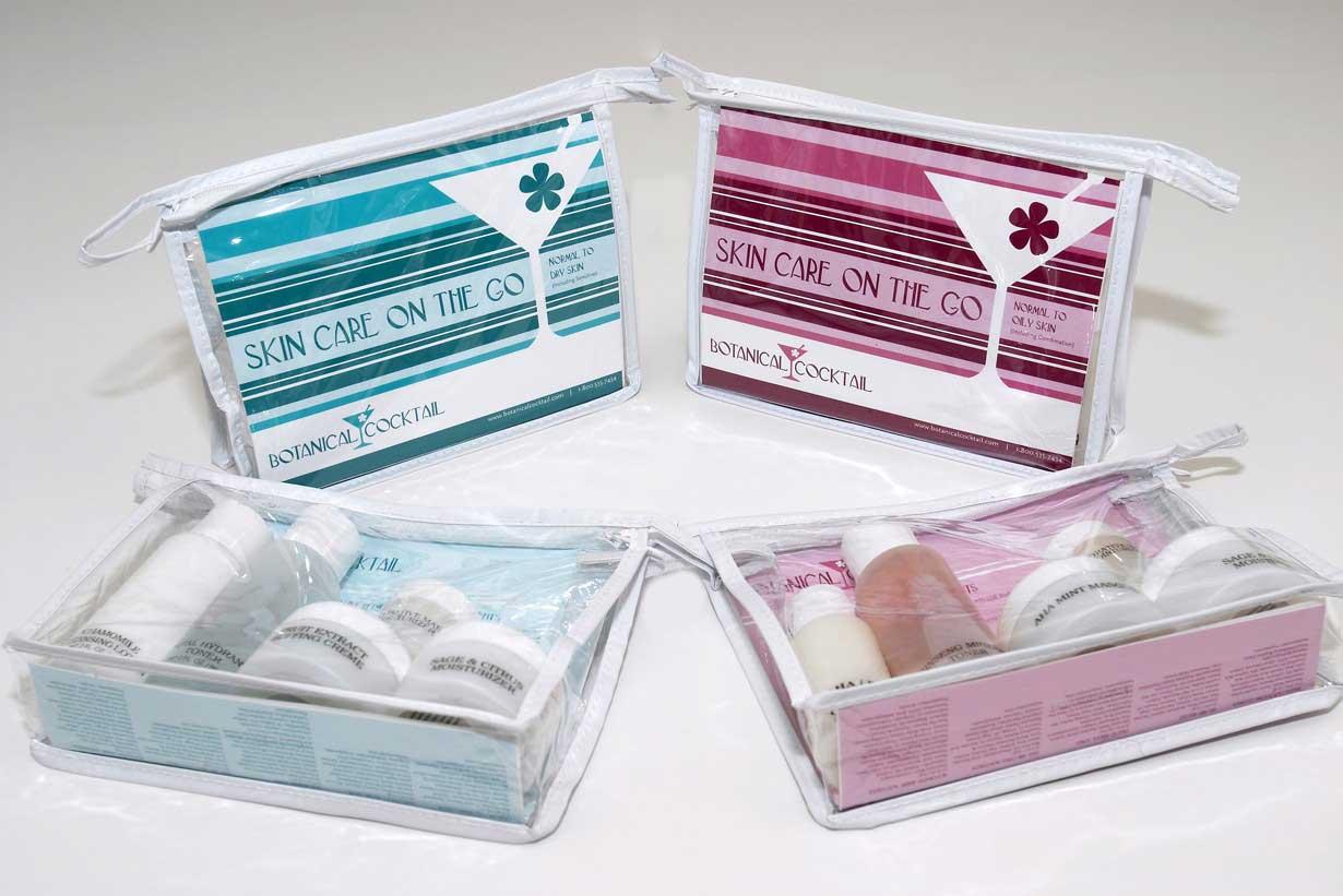 Natural Botanical Skin Care Kits