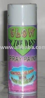 Glow in the dark spray paint