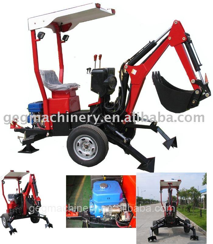 Towable Backhoe Mini Excavator Backhoe
