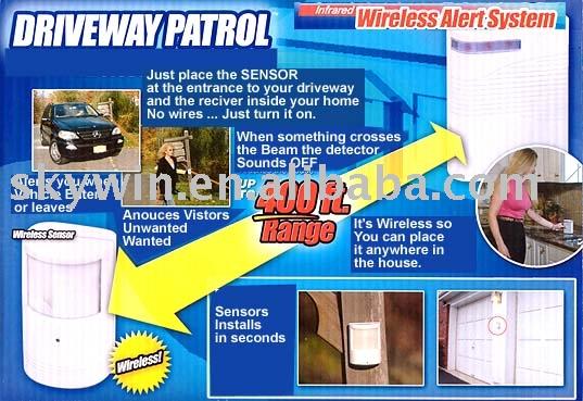 Driveway Patrol Alarm System