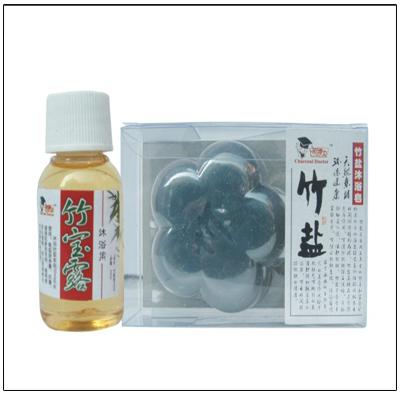 Bamboo Salt Bath Kit