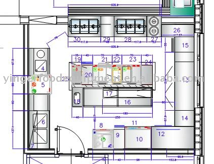 Commercial Kitchen Equipment Layout,Buying Commercial Kitchen ...
