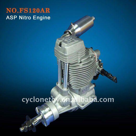 ASP 4 Stroke FS120AR Engine
