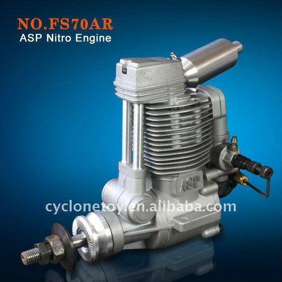 ASP 4 Stroke FS70AR Nitro Engine