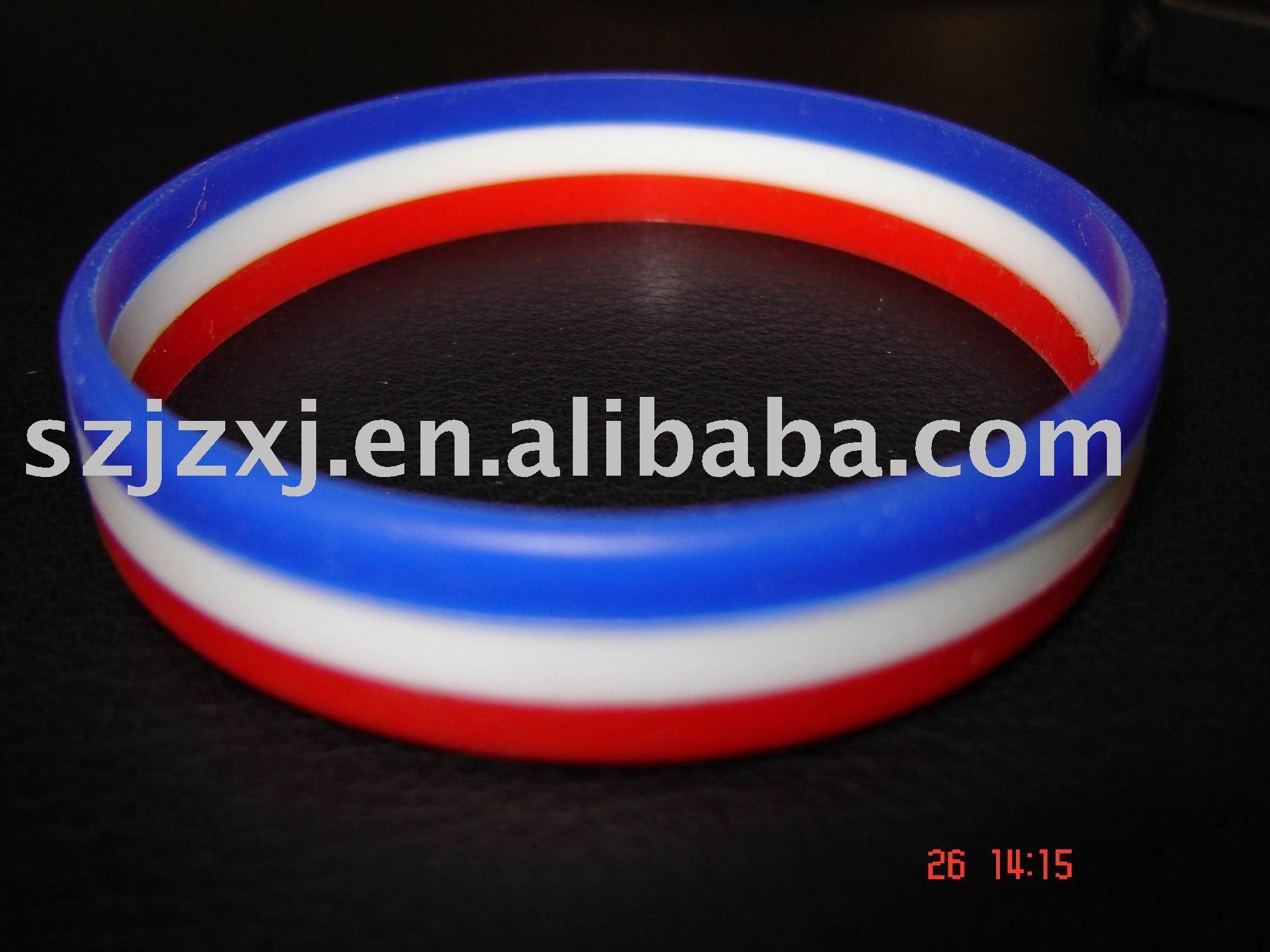 Striped silicone bracelet Skinny Busty Teens Nipples