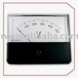 AC Rectifier-type moving coil meter