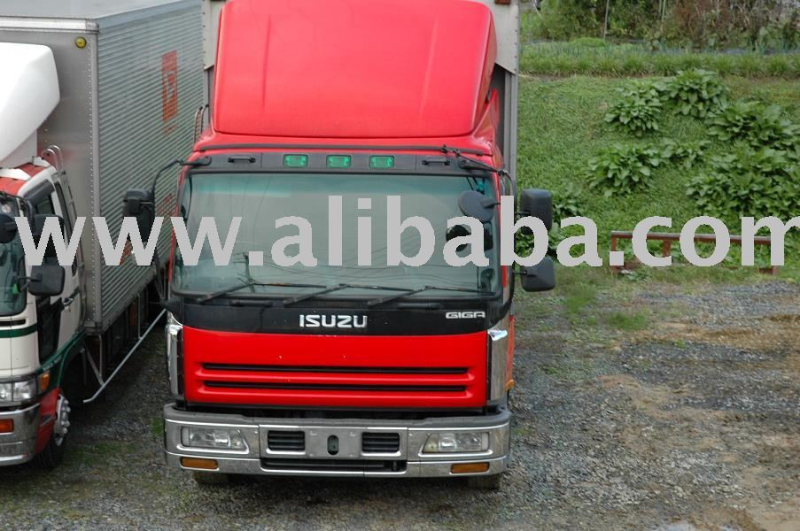 USED ISUZU GIGA ALUMI WING BODY TRUCK