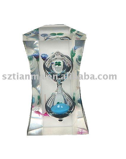 acrylic hourglass