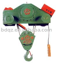 double -rail wire rope hoist
