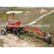 mini graver backhoe