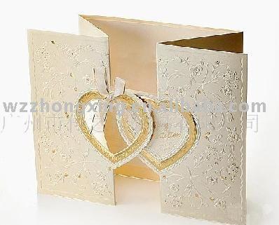 invitation card gift card wedding invitation card