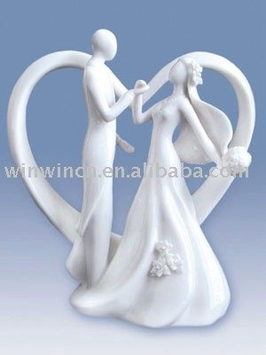 Cake topperporcelain wedding cake topperceramic
