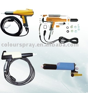 electrostatic powder coating spray gun s