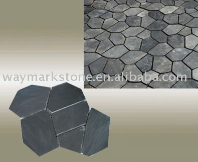 flag of china to color. flag stone mat. color: black
