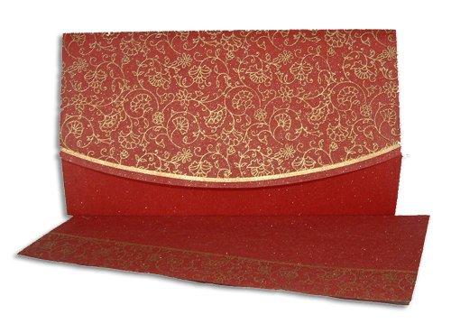 hindu wedding invitation card WD 8016