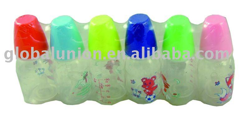6pc Baby Nursing Bottle Capacity:120ml/4oz - A01815