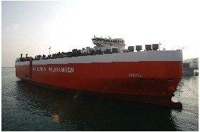 MV Tijuca vessel freight