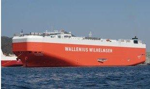 MV Tombarra vessel freight
