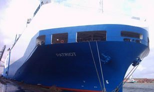 M/V Patriot vessel freight