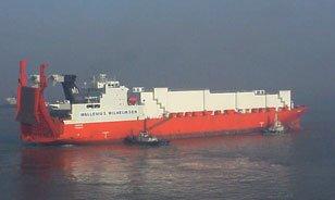 M/V Tampere vessel freight