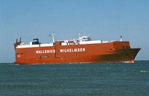 MV Tagus vessel freight